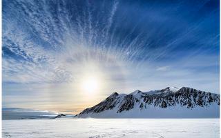 natura  ghiaccio  antartide  curiosità