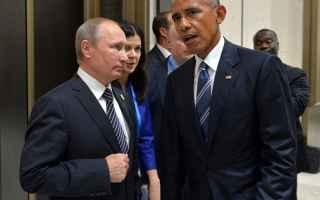 dal Mondo: obama  putin  usa  russia  hacker