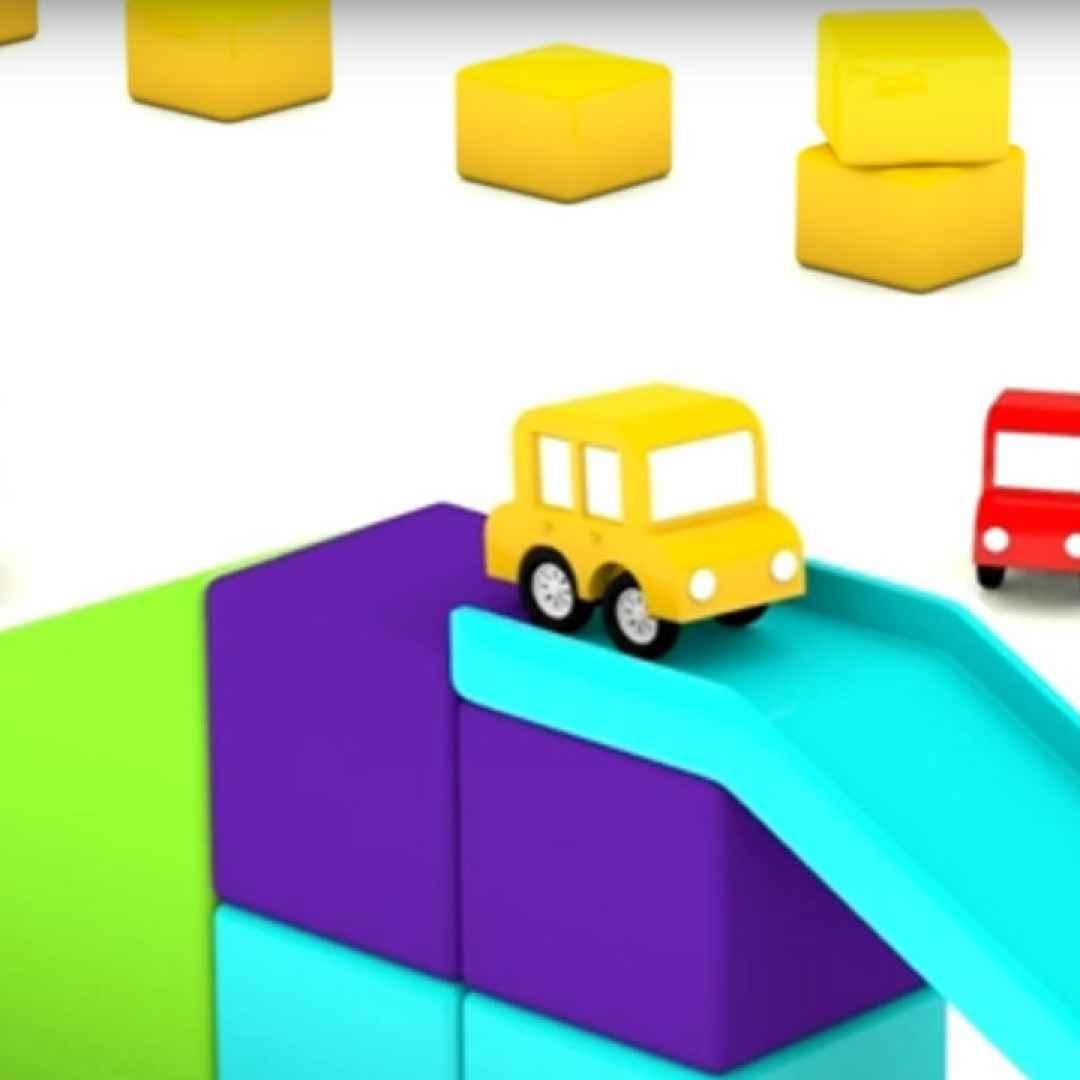 Video divertenti cartoni animati per bambini macchinine