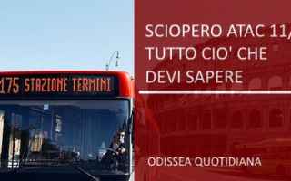 roma; sciopero  atac