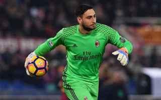 Calcio: milan  donnarumma  maldini  record