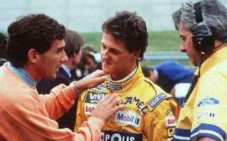 Formula 1: schumacher  senna  pianto  formula 1