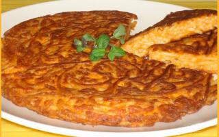Ricette: ricetta  frittata  riciclo  pasta