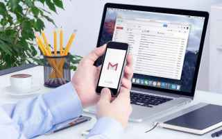 Google: gmail  recupero password