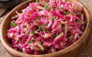 insalata di daikon  inverno  ricetta