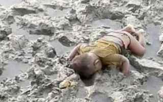 Cronaca Nera: birmania  bambino  morto