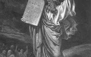 Religione: bibbia  decalogo  deuteronomio  esodo