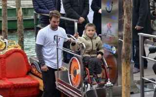 disabilità  venezia  gondola
