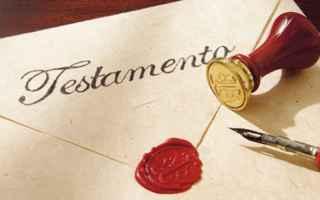 testamento lettera firma validità