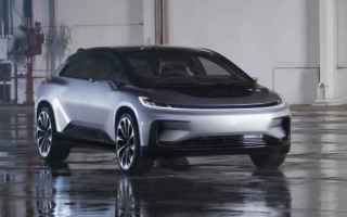 Automobili: ces 2017  faraday future  car