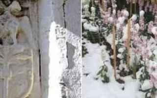 Bari: puglia  salento  neve  inverno