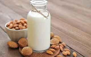 Alimentazione: latte di mandorla  proprietá
