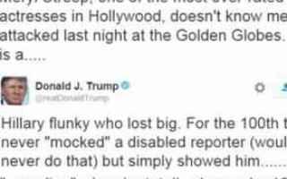 meryl streep  donald trump  golden globe