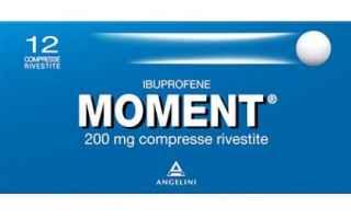 Il Moment è un farmaco noto impiegato per la terapia di stati infiammatori. Il principio attivo all