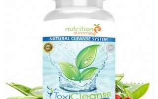 toxicleanse  detox  integratore