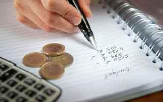 Soldi: risparmio  reddito giornaliero