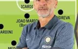 Calcio: inter  formazione