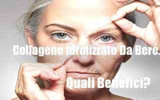 Bellezza: pelle  antiage  antirughe  collagene
