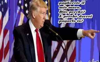 Satira: donald trump  clandestini