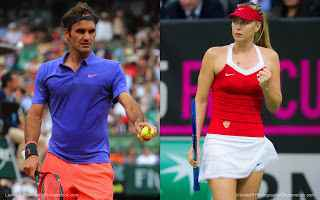 tennis grand slam sharapova federer