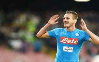 Serie A: napoli  infortunio  milik