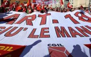 Politica: governo  consulta  referendum  voucher