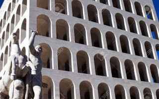 Architettura: palazzo  civiltà  italiana  eur