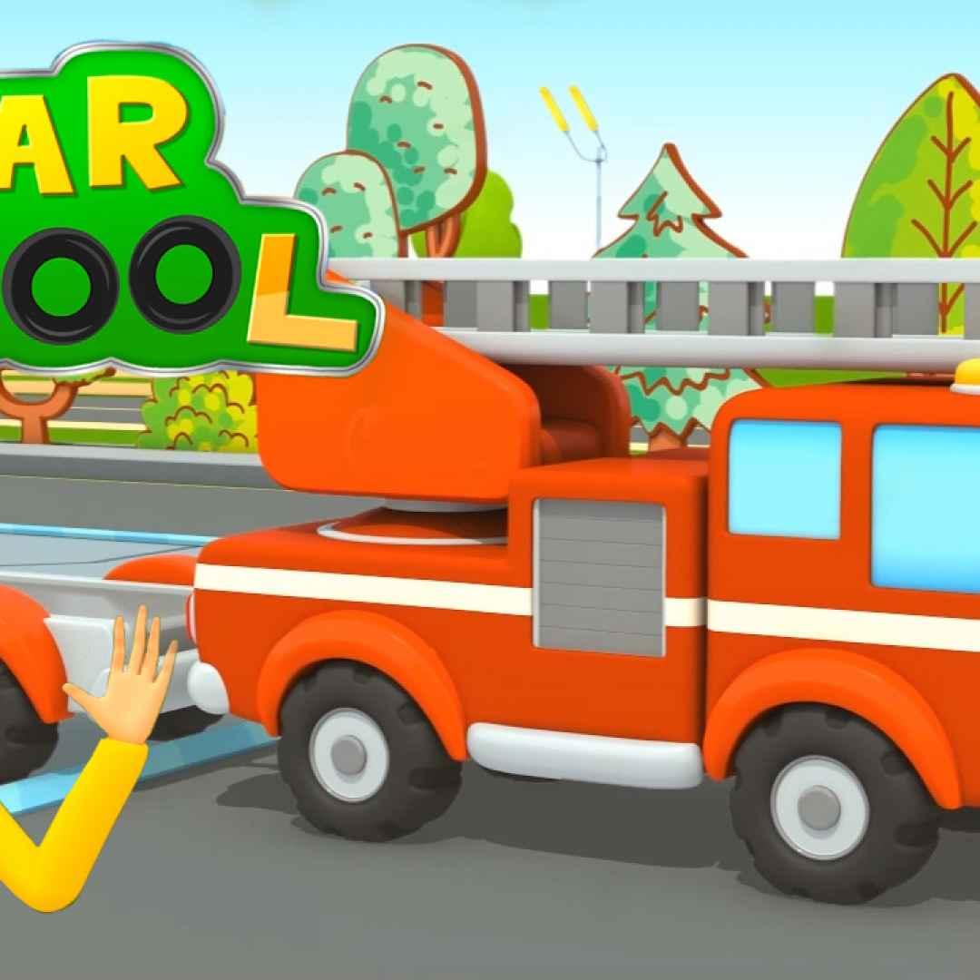 cartoni animati  bambini  pompieri