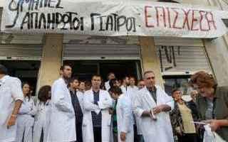 dal Mondo: grecia  salute  sanità
