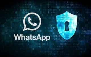 Sicurezza: privacy  whatsapp