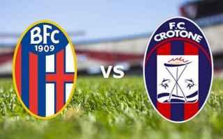 Serie A: crotone  bologna