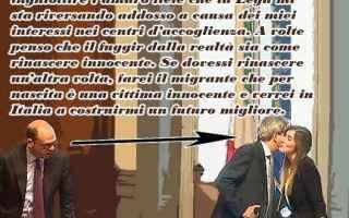 Satira: ministro alfano  migranti