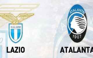 Serie A: lazio  atalanta  formazioni  campionato