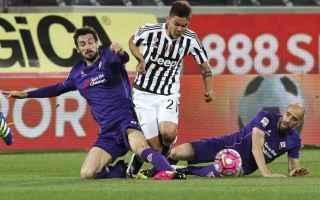 Serie A: diretta  fiorentina  juventus  live
