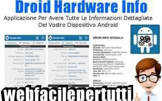 App: droid hardware app informazioni