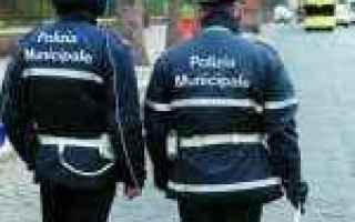 polizia municipale  agenti  piacenza