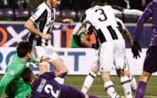 Serie A: juve  fiorentina  trasferta  sconfitta