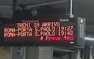 Roma: I nuovi tabelloni della #RomaLido: le notizie