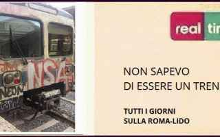 Roma Lido con il freddo rallentano anche i riflessi dei treni! Come abbiamo visto dalla cronaca di R