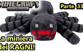 Mobile games: minecraft  minecraftpe  ragni  miniere