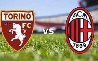 Serie A: torino  milan  streaming