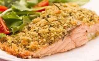 salmone al forno  pistacchi  ricetta