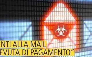 pec  virus  malware  spam  pericolo e-ma