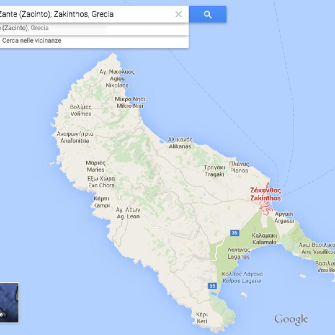 Informazioni utili per una vacanza all 39 isola di zante for Grecia vacanze