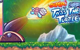 Mobile games: super toss the turtle  android  action