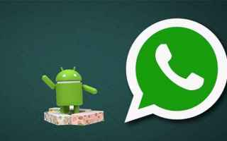 App: whatsapp  app  nougat  beta  notifiche