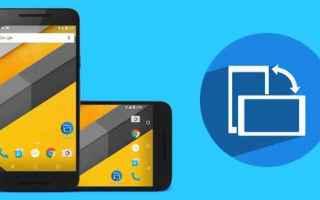 Android: android utility applicazioni schermo
