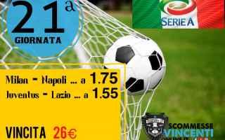 Serie A: scommesse vincenti  dritte  pronostici