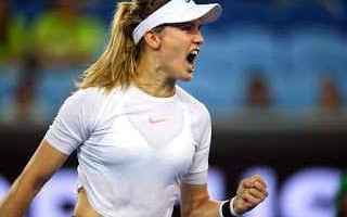 Tennis: tennis grand slam eugenie bouchard