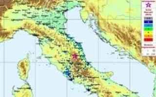 terremoto  scosse  centro italia